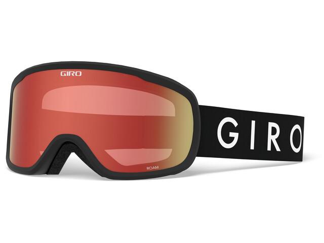 Giro Roam Gafas Hombre, black core/amber scarlet/yellow